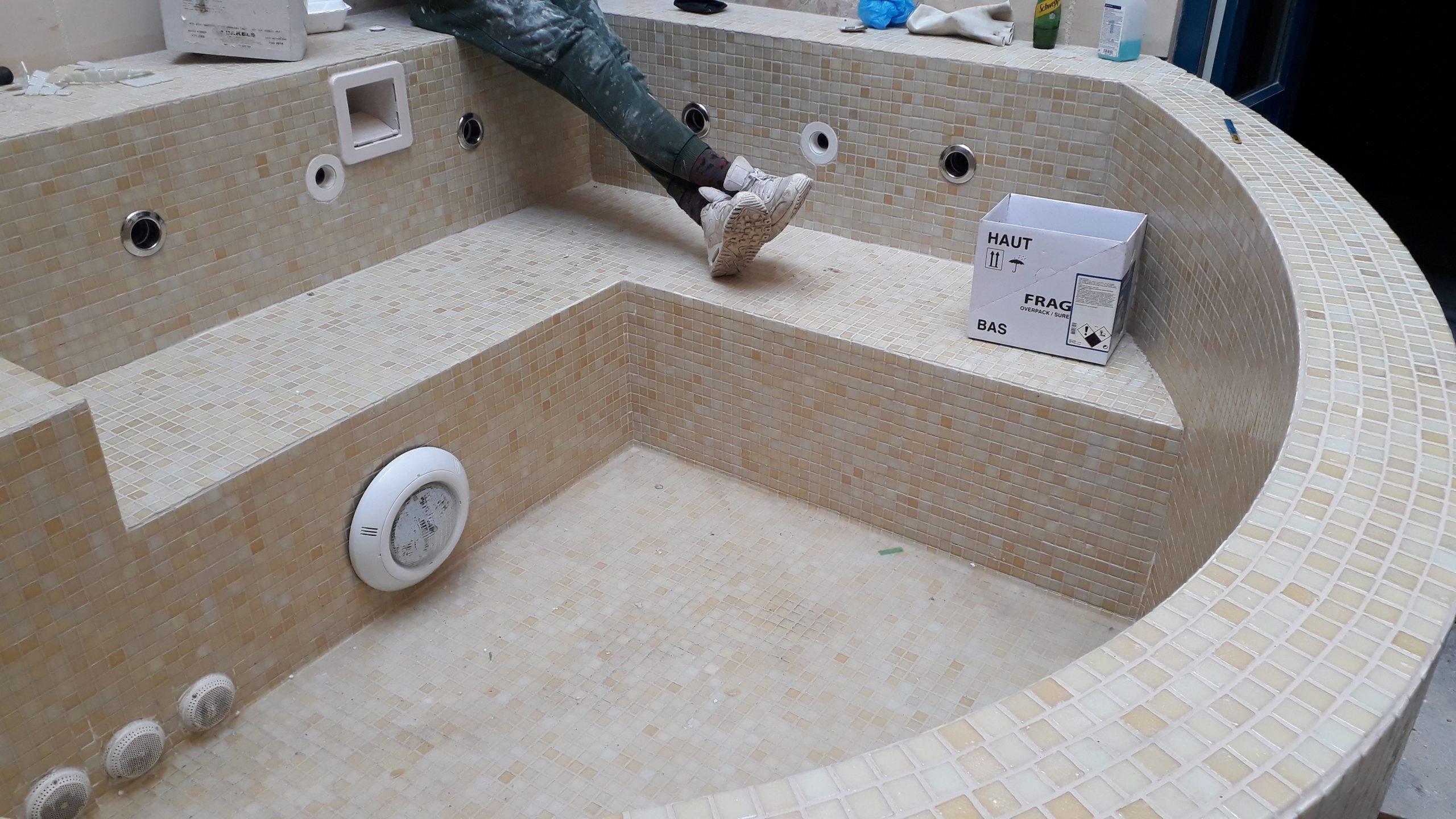 Above Ground Custom Made Jacuzzi.