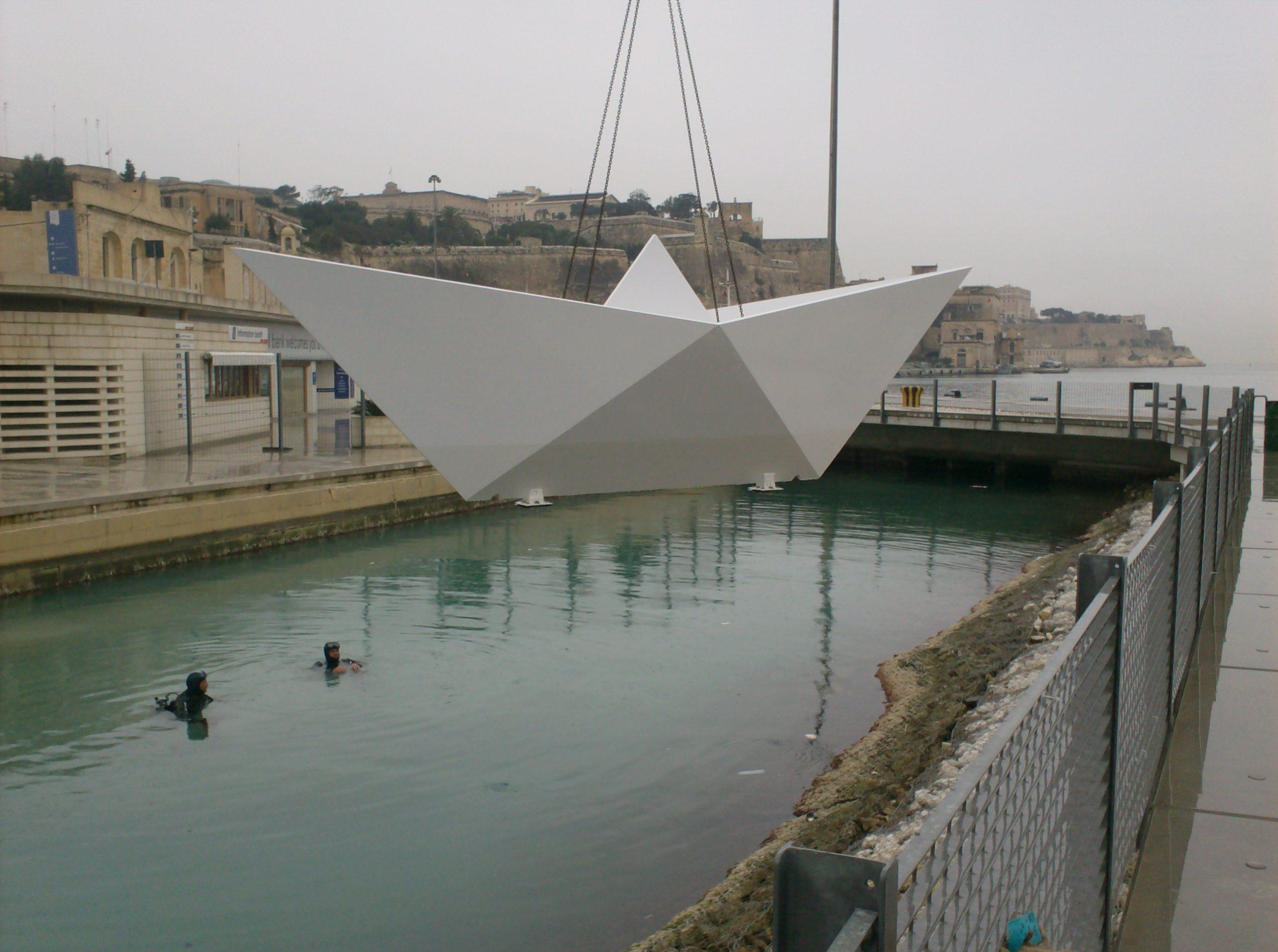 Valletta Waterfront Child Memorial Boat