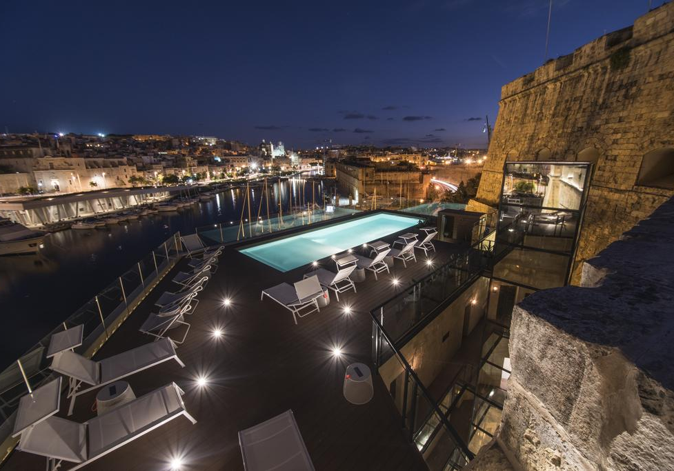 The Cugó Gran Macina Grand Harbour Hotel Pool